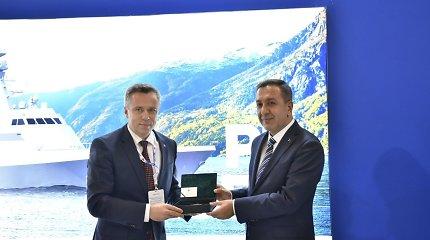 V.Semeška susitikime Turkijoje tarėsi dėl galimo šalių bendradarbiavimo gynybos pramonėje
