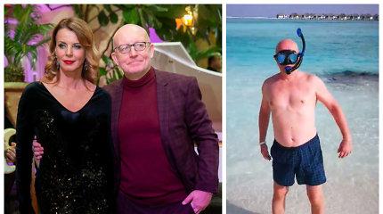 A.Valinskas atostogas Maldyvuose patikėjo planuoti Ingai: net nenutuokia, kiek jam tai kainavo