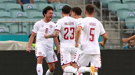 """Euro 2020"" ketvirtfinalis: Čekija – Danija"