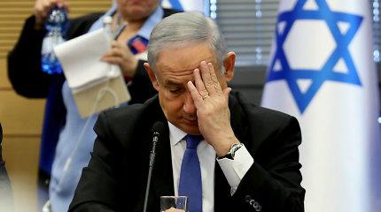 B.Netanyahu advokatui bus pareikšti kaltinimai dėl pinigų plovimo
