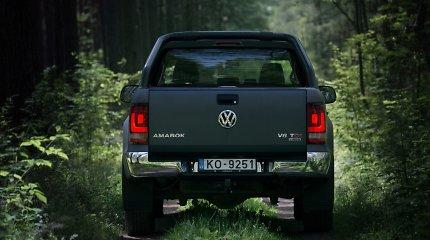"""""""Volkswagen Amarok"""" pripažintas """"geriausios veislės darbiniu arkliu"""""""