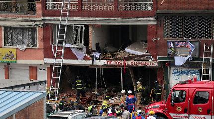 Kolumbijoje per sprogimą fabrike žuvo keturi žmonės, 29 sužeisti