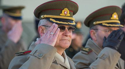 Karo akademijos vadovu tapo generolas Algis Vaičeliūnas