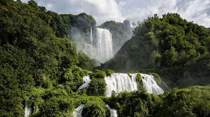 Nuostabaus grožio krioklys Italijoje – žmogaus sukurtas prieš 2 tūkst. metų
