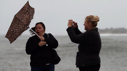 Įspėjimas gyventojams: ketvirtadienio rytą Lietuvą siaubs stiprus vėjas