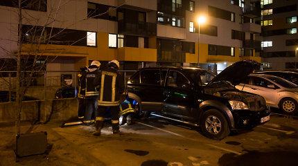 Perkūnkiemyje išvengta nelaimės: ugniagesiams pranešta apie dujų nuotėkį automobilyje