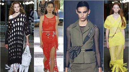 Vasaros sezono tendencija – tinklas: kaip dėvėti tokius drabužius?