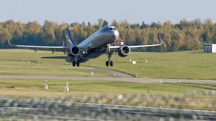 """""""Aeroflot"""" atšaukia penktadienio skrydį į Vilnių"""