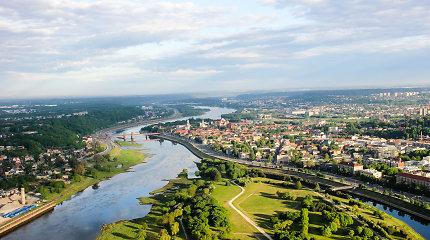 Kaunas iš viršaus: reginys, atimantis žadą