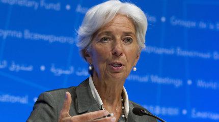 Būsimoji ECB vadovė duoda suprasti, jog laikysis M.Draghi ekspansinės politikos krypties