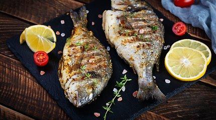 Savaitgaliui – pavasariški žuvies patiekalai: tiks ir jungsiantiems orkaitę, ir kursiantiems grilį