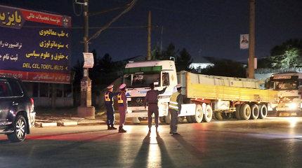 Per galingą sprogimąKabulo centre žuvo 16, sužeista dar daugiau kaip 100 žmonių