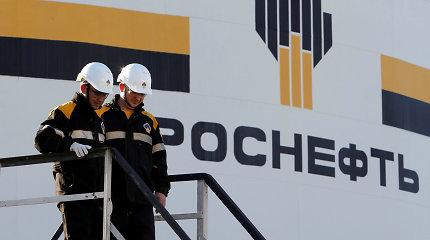 """JAV įvedė sankcijų rusų milžinės """"Rosneft"""" antrinei įmonei dėl prekybos su Venesuela"""