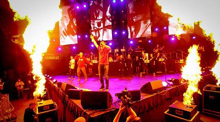 """""""G&G Sindikato"""" koncerte Vilniuje – karšta pirtis tūkstančiams gerbėjų, kurie nieko nebijo"""