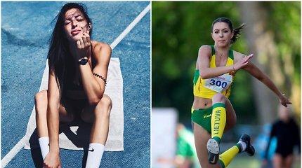 Lietuvos rekordininkė D.Zagainova – apie jaudinančią akimirką ir draugystę su konkurente