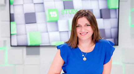 15min studijoje viešėjo Vilniaus istorijų pasakotoja, gidė Gabija Lunevičiūtė