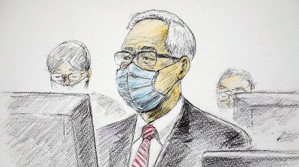 """Tokijuje prasidėjo buvusio """"Nissan"""" vadovo C.Ghosno padėjėjo teismo procesas"""