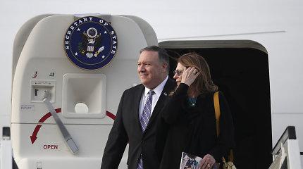 JAV diplomatijos vadovas atvyko į Saudo Arabiją derybų dėl Irano