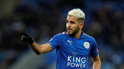 """Manchester City"" arti susitarimo su Riyadu Mahrezu"