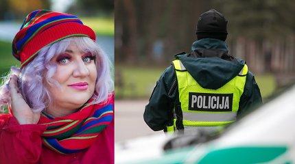 Šiųmetės Velykos Dainai Bilevičiūtei pažėrė nuotykių: patekus į bėdą kelyje pagelbėjo pareigūnai
