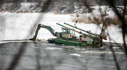 Neryje laužomas ledas: Kauno rajono valdininkai perspėja apie pavojus