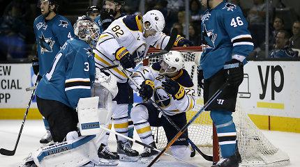 """NHL lygoje – dar viena Dainiaus Zubraus """"San Jose Sharks"""" klubo nesėkmė"""