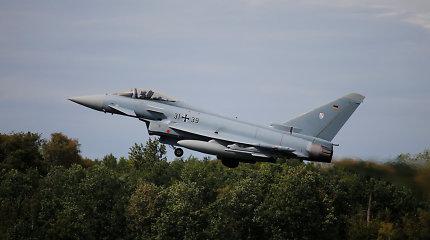 Baltijos šalių oro erdvėje patruliuoti pradeda Vokietijos aviacija
