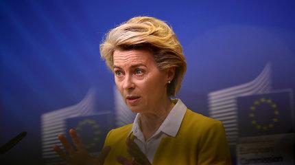 U.von der Leyen patarėjo lūpomis nepriėmė kvietimo atvykti į Kijevą: priežastis keista