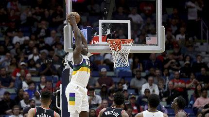 Naujajame Orleane – Ziono Williamsono sezono rungtynės