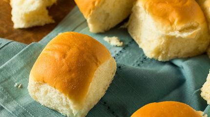 Malonumas kepti ir valgyti: mielinių rutuliukų duona