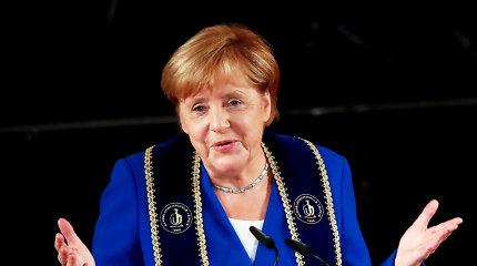 Vokietijos kanclerės partija atmeta galimybę nuodugniai peržiūrėti koalicinę sutartį