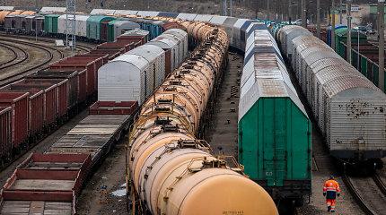 Estijos valstybinė geležinkelių operatorė per pusmetį gabeno trečdaliu daugiau krovinių