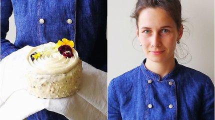"""""""100 tortų Lietuvai"""": konditerės Barboros Inciutės-Čepulionienės tortas """"Pavasarinė rasa"""""""