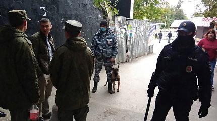 V.Putinas apdovanojo Permės universiteto šaulį sutramdžiusius policininkus