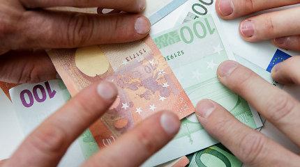 Darbo užmokesčio atotrūkis tarp regionų per ketvirtį sumažėjo
