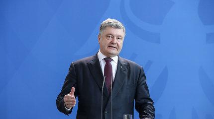 P.Porošenka: ES paskelbė sankcijas Rusijos prezidento rinkimų Kryme organizatoriams