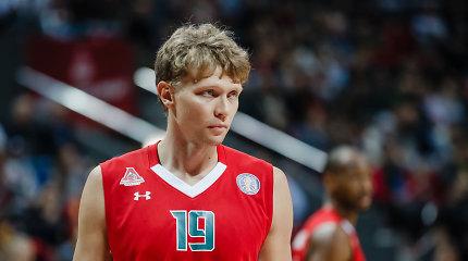 """Nepaisant M.Kuzminsko ir M.Kalniečio pastangų, nutrūko """"Lokomotiv"""" pergalių serija"""