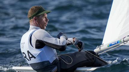 Lietuvės vyrui nepasisekė žaidynių medalių lenktynėse