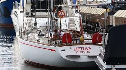 """Klaipėdos savivaldybė planuoja garsios jachtos """"Lietuva"""" remontą"""