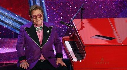 """Dalia Ibelhauptaitė apie Eltoną Johną: """"Po ekstravagancija slepiasi tikras žmogus"""""""