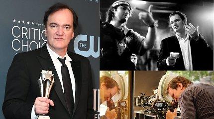 Quentinas Tarantino laikosi vaikystės pažado: dėl pašaipų mamai neduoda nė cento