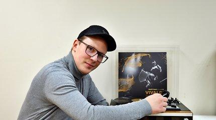 """Akordeonistas M.Levickis pristato pirmąją vinilo plokštelę: """"Nebijau drąsių eksperimentų ir improvizacijų"""""""