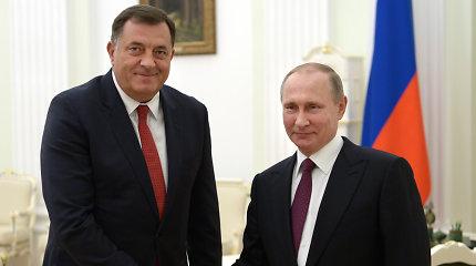 Rusijos ranka vis labiau jaučiama ir Balkanuose