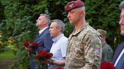 """V.Semeška: """"Stiprinamas Ukrainos kariuomenės sąveikumas su NATO sąjungininkais"""""""
