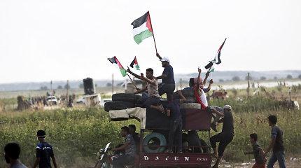 Izraelio ir Gazos Ruožo pasienyje žydų kariai nušovė palestinietį
