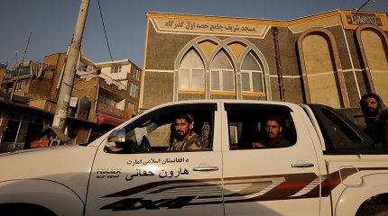 JAV ir JK įspėja piliečius apie pavojų Kabulo viešbučiams