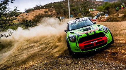 """""""Samsonas Rally Rokiškis"""" žada dalyvauti Ukrainos ekipažas su WRC kalibro """"Mini"""""""