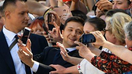 Volodymyro Zelenskio inauguracija