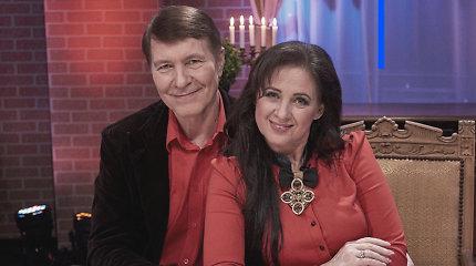 Liveta ir Petras Kazlauskai: apie meilę iš pirmo žvilgsnio, karštus barnius namie ir laimės paslaptį