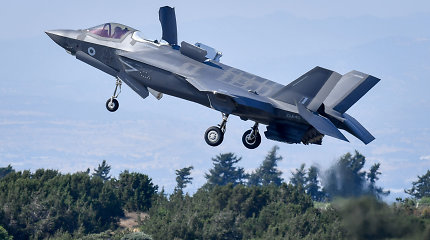 Izraelyje prasidėjo bendros su amerikiečiais oro pajėgų pratybos
